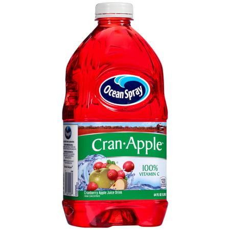 Ocean Spray Fruit Juice, Cran-Apple, 64 Fl Oz, 1 Count