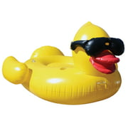GAME Giant Derby Duck Inflatable Pool Float With Pump