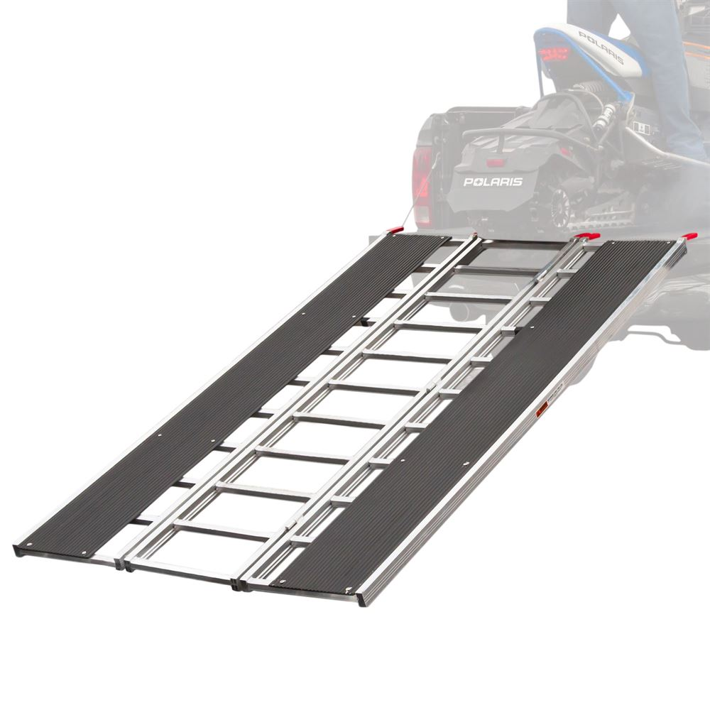 "94"" x 54"" Snowmobile Loading Ramp with Extra Wide Glides"