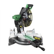 Factory-Reconditioned Metabo HPT C12FDHSM 15 Amp Dual Bevel 12 in. Corded Miter Saw with Laser Guide (Refurbished)