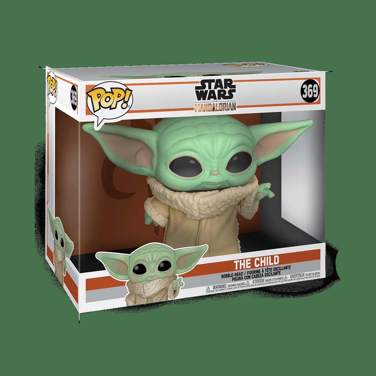 Pop Star Wars Funko 49757 Multicolore Mandalorian-10 Mandalorian The Child Figura da Collezione