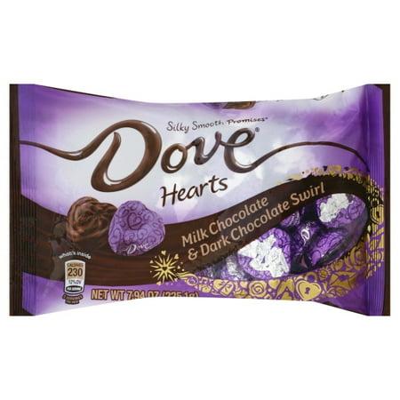 Mars Dove Silky Smooth Promises Hearts Milk Chocolate Dark
