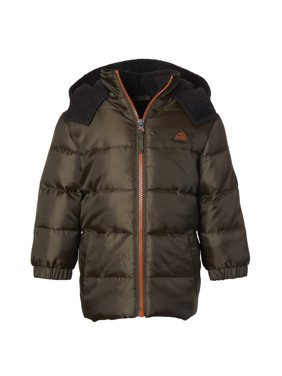 iXtreme Puffer Jacket with Contrast Zipper (Little Boys & Big Boys)