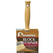 Premier 4 In. Professional Bristle Block Stain Brush B200-40