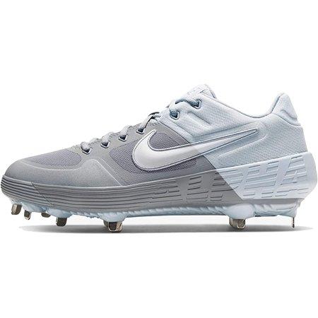 New Nike FI Premiere BB Cleat Men 11.5/Wmn 13 Slvr/Wh Alpha Huarache Elite 2 Low Premier Womens Golf Shoes
