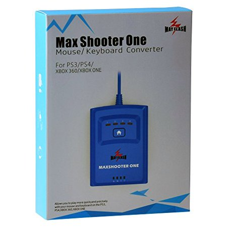 Mayflash Max Shooter One Mouse Keyboard Converter for PS3, PS4, XBOX 360, XBOX ONE (Xbox 360 Flash Point)