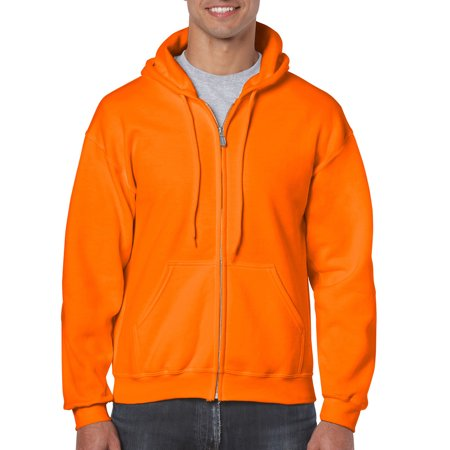 02406b95d91 Gildan - Gildan Men s Full Zip Hooded Sweatshirt - Walmart.com
