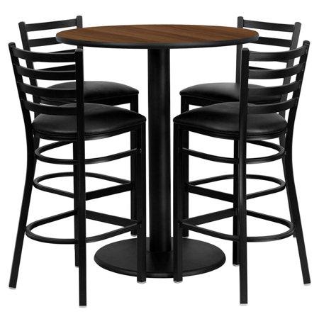36RD WA Bar Table-BK VYL Seat - image 1 of 1
