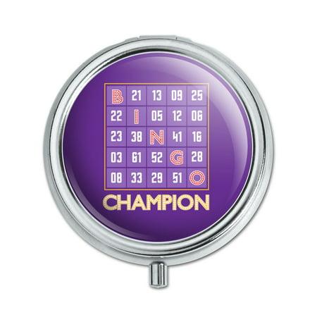 Boxed Bingo (Bingo Champion Pill Case Trinket Gift)