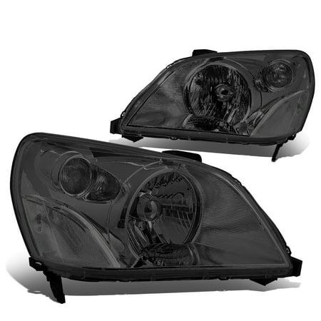 For 2003 to 2005 Honda Pilot Headlight Smoked Housing Clear Corner Headlamp 04