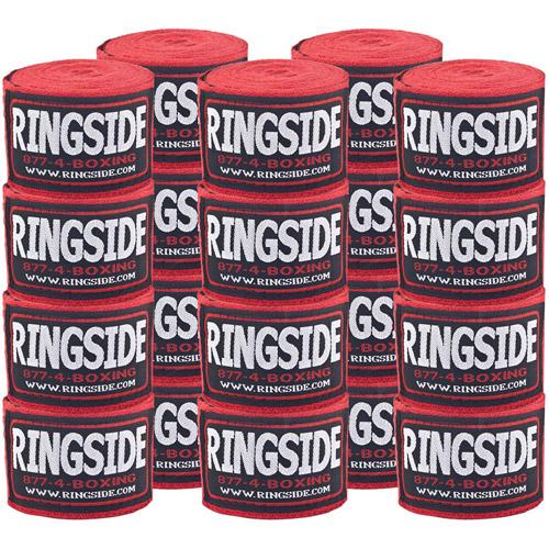 Ringside Cotton Standard Boxing Handwrap, 10 Pack