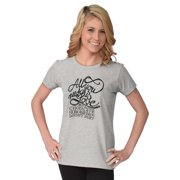 Inspirational Womens Tees Shirts Ladies Tshirts You Need Love And Chocolate Doesnt Hurt Gift