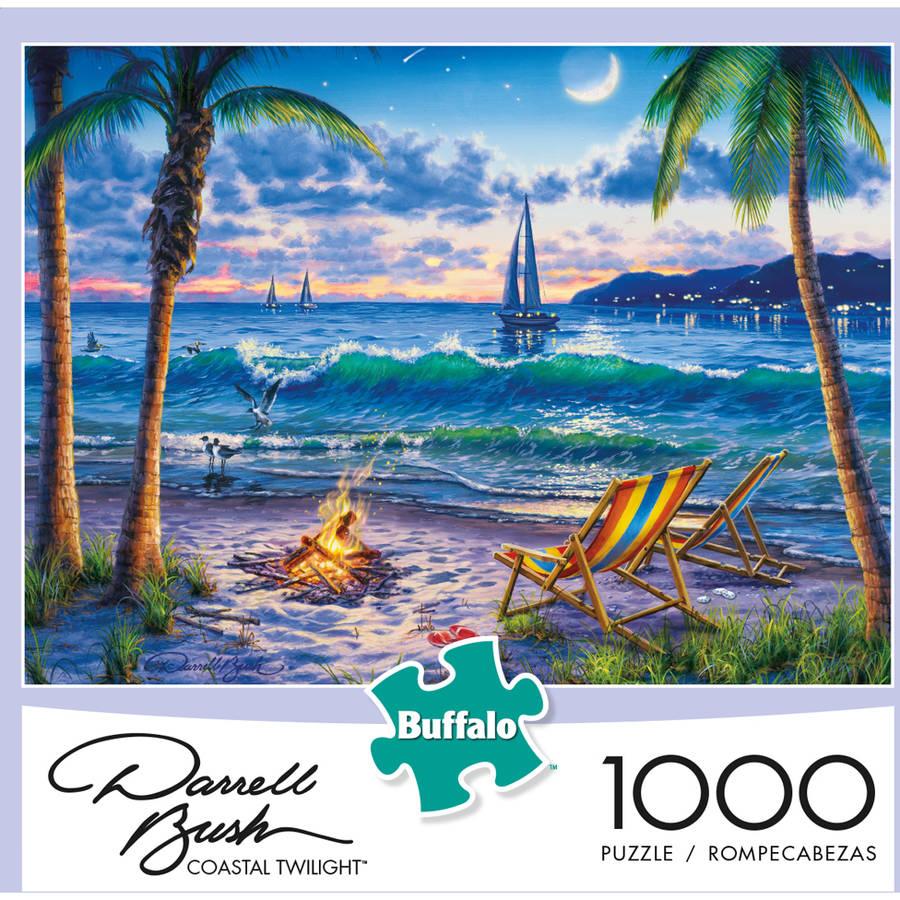 Buffalo Games Darrell Bush: Coastal Twilight Puzzle, 1000 - Pieces