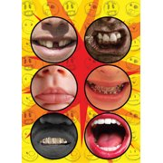 Billy Bob Bottomless Cup Stickers Party 6pc One Size Favor Set
