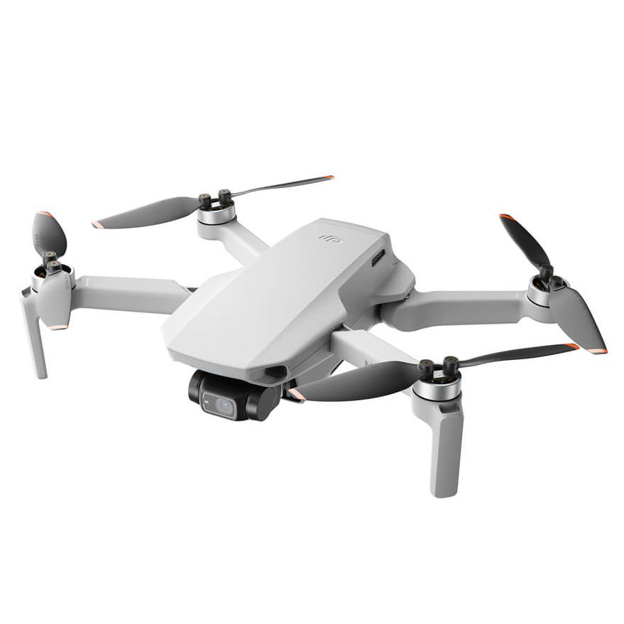 DJI Mini 2 – Ultralight and Foldable Drone Quadcopter, 3-Axis Gimbal with 4K Camera, 12MP Photo, 31 Mins Flight Time, OcuSync 2.0 10km HD Video Transmission, QuickShots, Gray (Includes Controller)