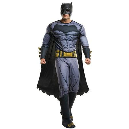Batman v Superman Dawn of Justice: Batman Deluxe Adult Costume](Batman Costune)