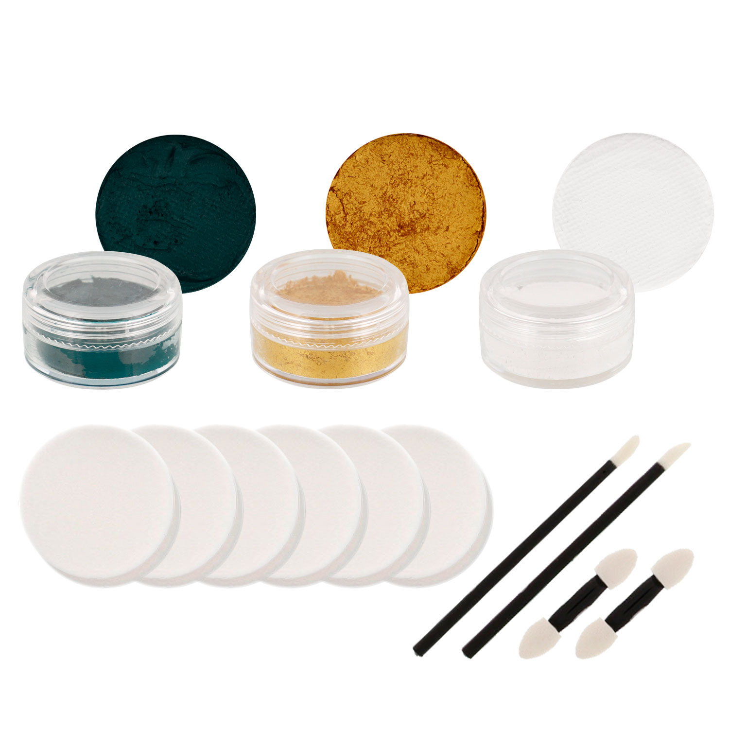 MUSTANGS Football Basketball FACE PAINTING SET Paint CP