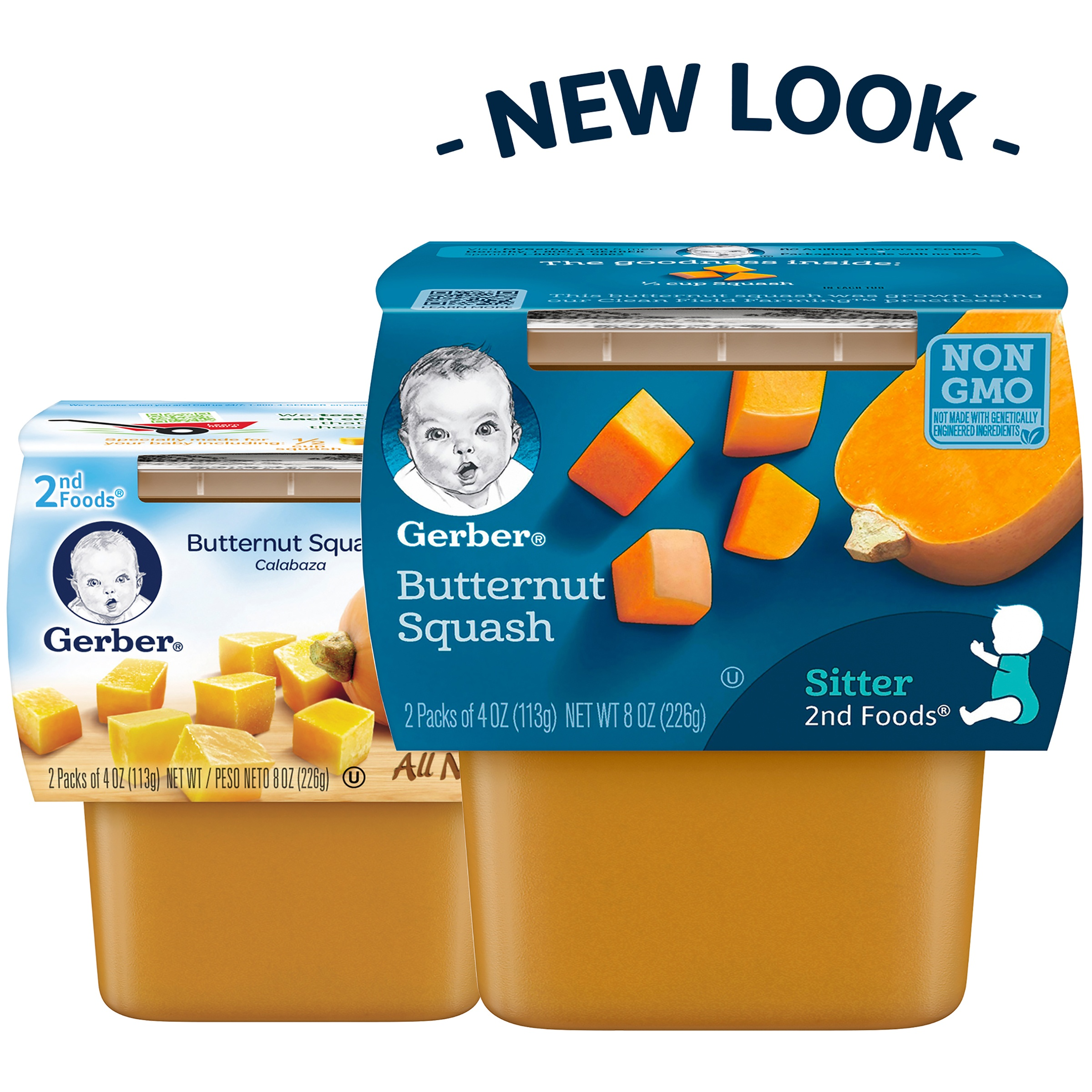 Gerber 2nd Foods Butternut Squash Baby Food