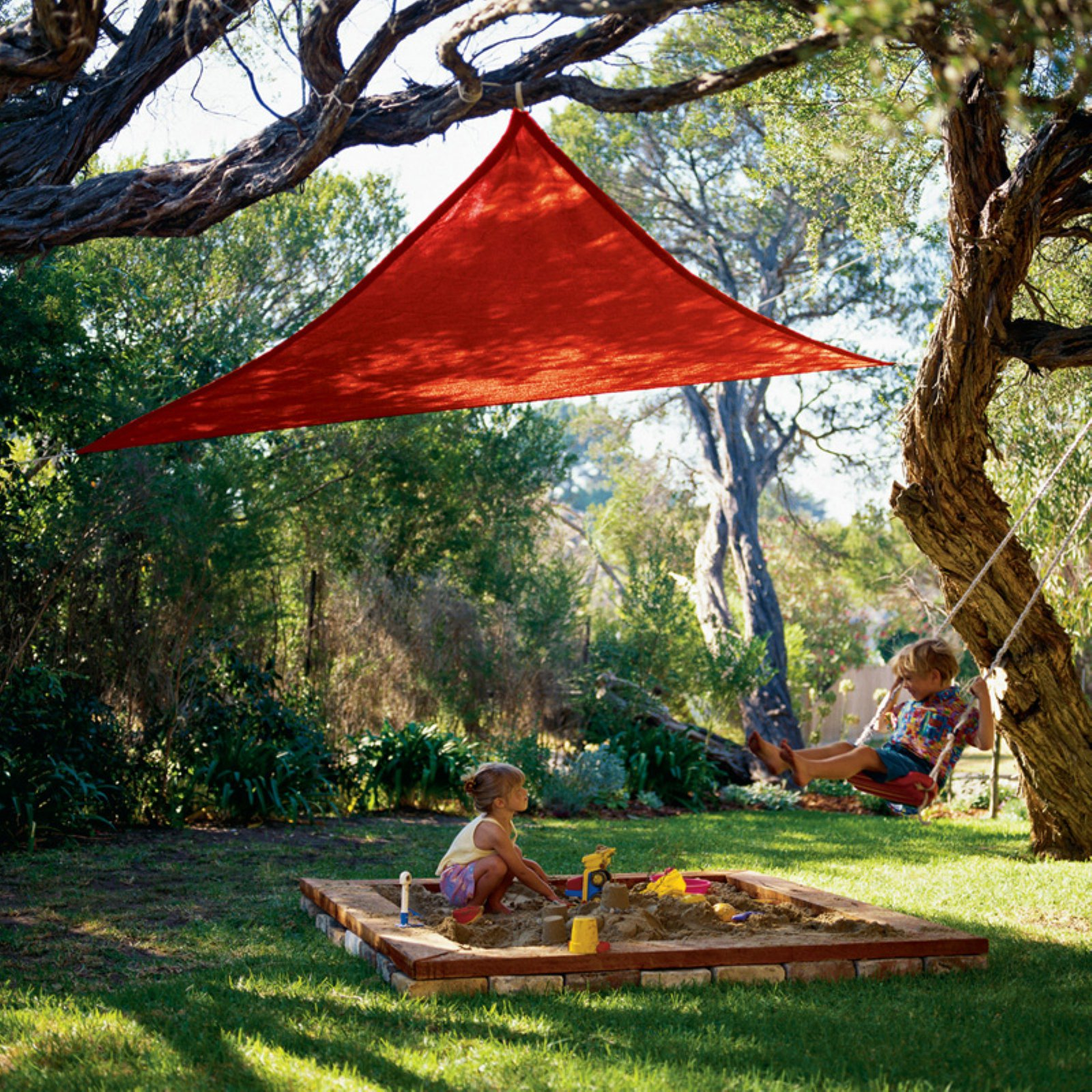 Coolaroo All-Purpose 9.8 ft. Triangle Party Shade Sail