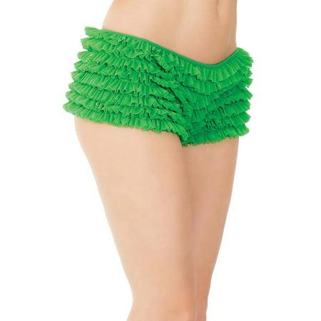 Womens Plus Size Lingerie Ruffle Bottom Boyshort Panties](Ruffle Panties)