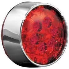 Kuryakyn LED Rear Turn Signal Inserts Red/Bullet Fits 06-14 Harley-Davidson Sportster 1200 Low Anniversary XL1200L