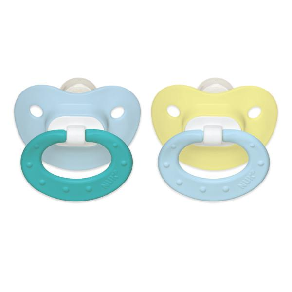 Nuk Orthodontic Pacifier 0-6M - 2 CT