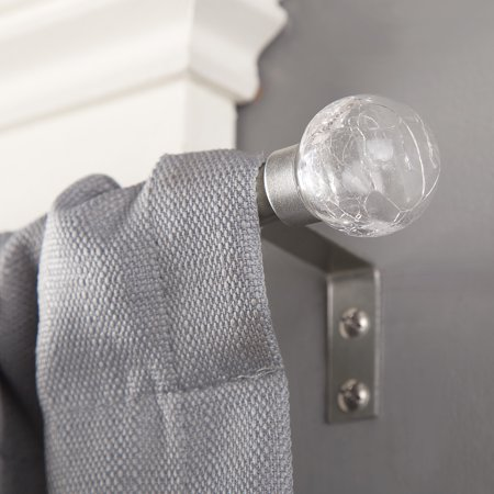 Kenney 1 2   Diameter Crackle Petite Curtain Rod