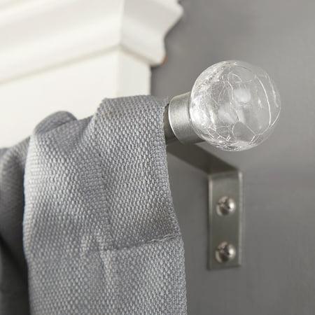 "Kenney 1/2"" Diameter Crackle Petite Curtain Rod"