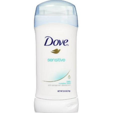 Dove Anti-Perspirant Deodorant, Sensitive Skin 2.60 oz (Pack of
