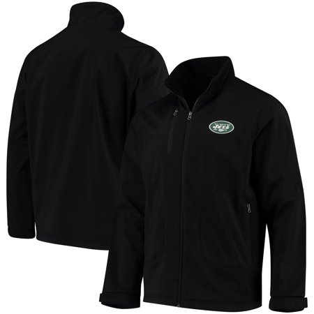 New York Jets Hands High Strong Side Soft Shell Jacket - Black