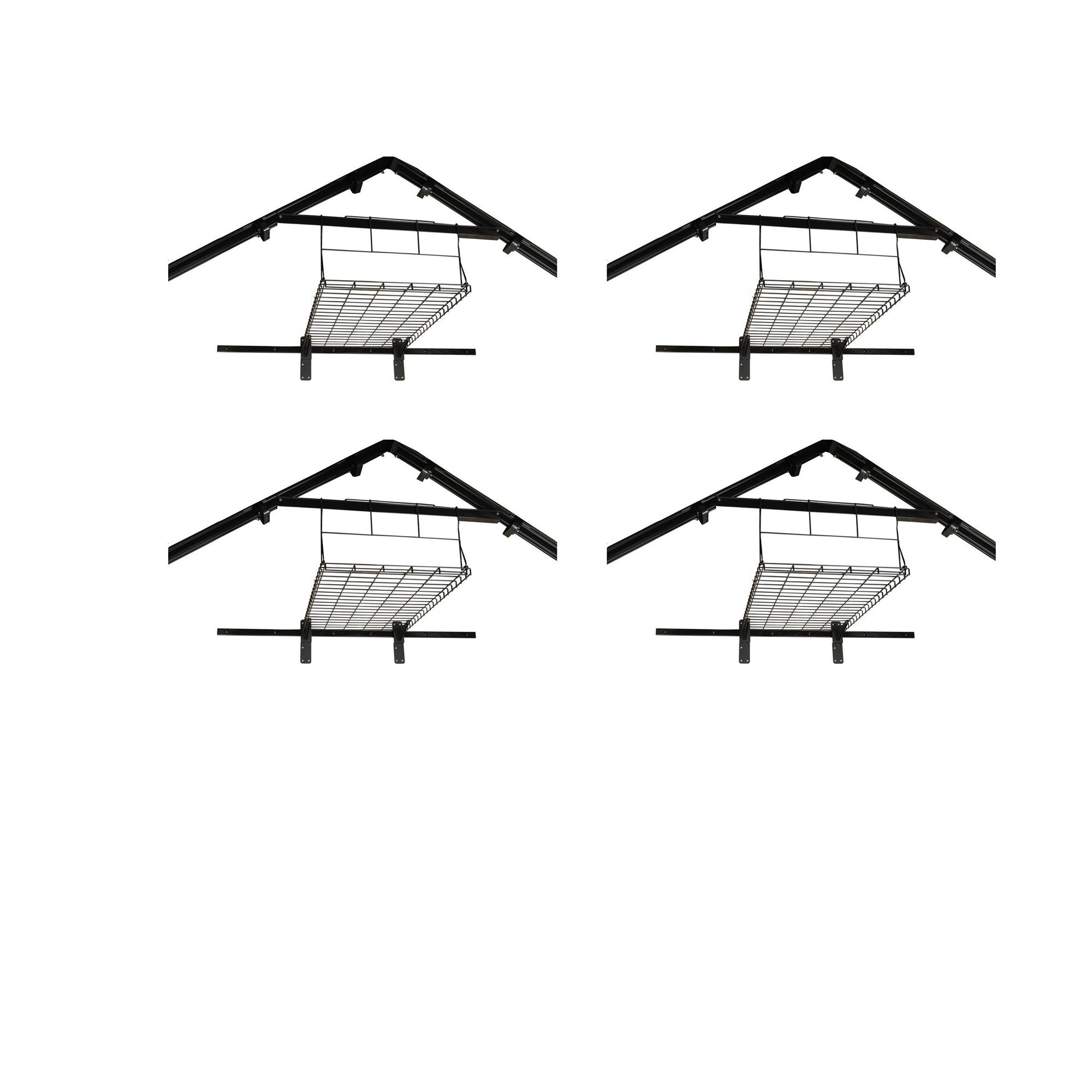 Suncast Outdoor Storage Shed Loft Shelf for Suncast Sheds (Shelf Only) (4 Pack)