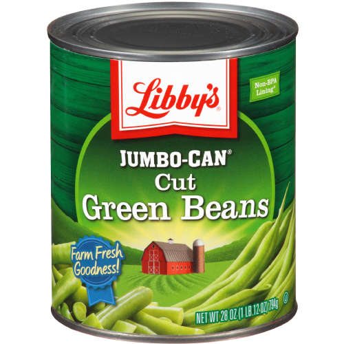 Libby's Jumbo Cut Green Beans, 28 Oz