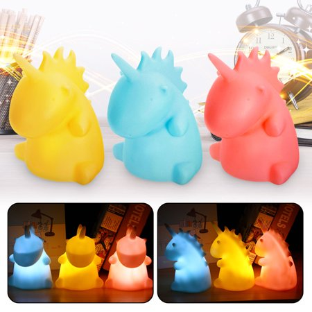 5W 3D Unicorn LED Night Light Table Desk Lamp Home Kids Baby Room Decor Gift  - image 1 of 5
