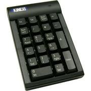 Kinesis AC210USB-BLK USB 2.0 Low Force Tactile Keypad, Black