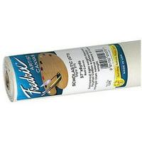 "Fredrix Primed Cotton Canvas, Scholastic Polyflax Style 575, 57 "" x 216"""