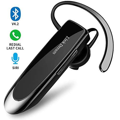 Bluetooth Earpiece Link Dream Wireless Headset With Mic 24hrs Talktime Hands Free In Ear Headphone Compatible With Iphone Sam Walmart Com Walmart Com
