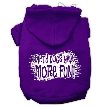 Dirty Dogs Screen Print Pet Hoodies Purple Size XXL (18) A poly/cotton sleeved hoodie for cold weather days, double stitched in all the right places for comfort and durability!Product Summary : New Pet Products/Screen Print Hoodies/Dirty Dogs Screen Print Pet Hoodies@Pet Apparel/Dog Hoodies/Screen Print Hoodies/Dirty Dogs Screen Print Pet Hoodies@Pet Apparel/Dog Hoodies/Screen Print Hoodies COPY/Dirty Dogs Screen Print Pet Hoodies