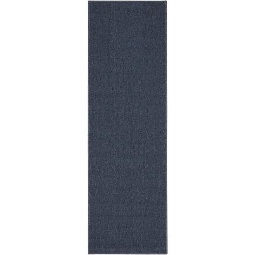 "Mainstays Titan Runner Rug, Blue, 22.5"" x 72"""
