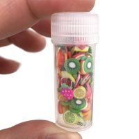 matoen DIY 3D FIMO Slice Face Decoration Sequins for Homemade Slime Making Craft MR