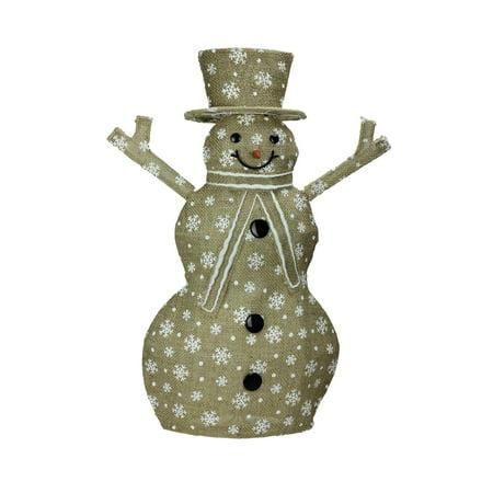 Spinning Snowflake Snowman (24