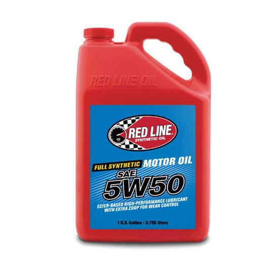 Redline 11605 50W50 Synthetic Motor Oil, Gallon