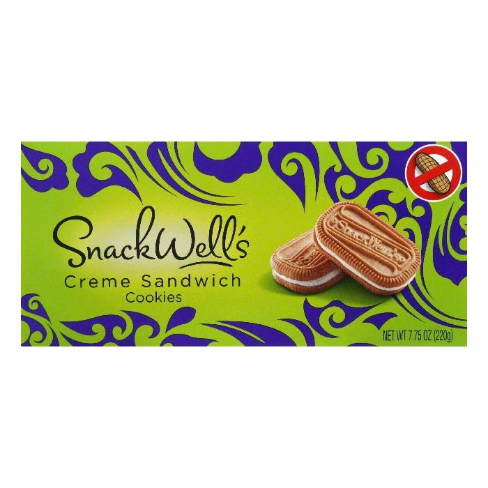 Snack Wells Creme Sandwich Cookies, 7.75 OZ (Pack of 12)