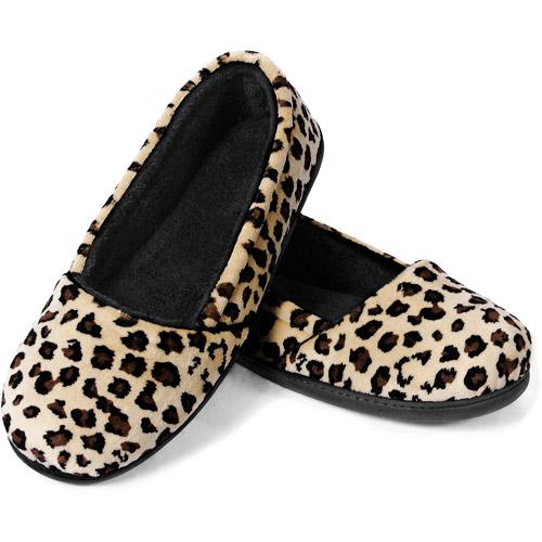 Dearfoams - Women's Velour Closed Back Slippers