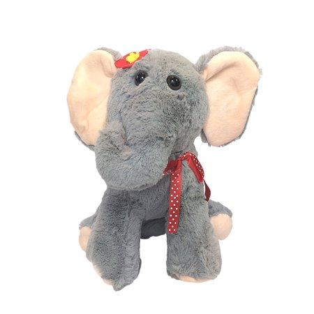 Kids Elephant Plush Handbag Purse ()