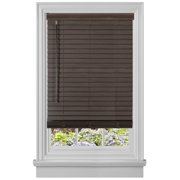 "PowerSellerUSA Cordless Window Blinds, Privacy & Light Filtering 2"" Slats Vinyl  Mini Blind, Anti-UV Window Treatment, Plantation Blind"
