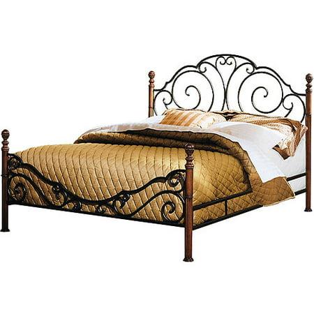 adison metal bed full - Metal Bed Frames Full