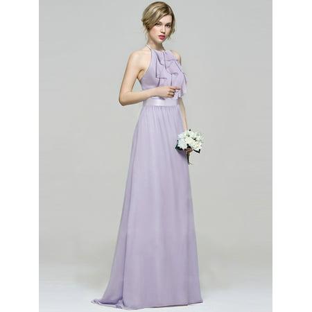 6cf8bbcc349 Ever-Pretty - Ever-Pretty Womens Chiffon Holiday Party Wedding Summer  Casual Dresses for Women 72012 Dusty Lilac US10 - Walmart.com