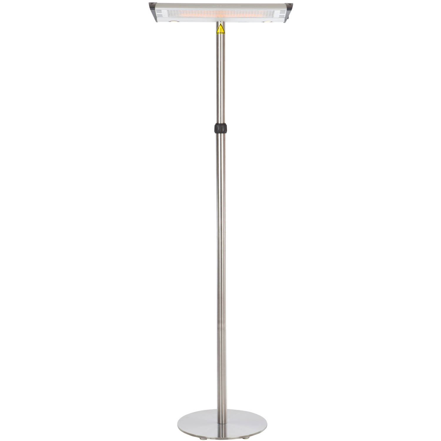 Morrison Dual Head Floor Standing Halogen Patio Heater by Well Traveled Living