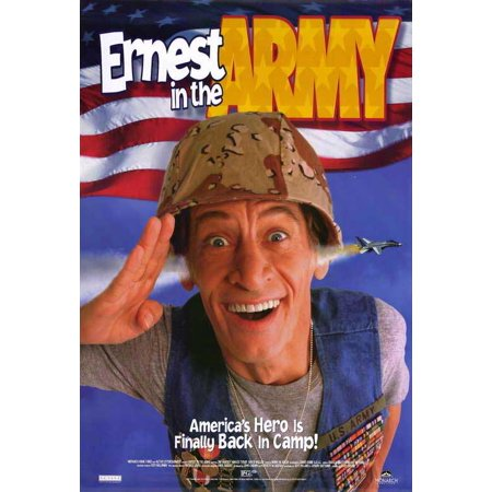 Ernest in the Army POSTER Movie B Mini - Ernest Halloween