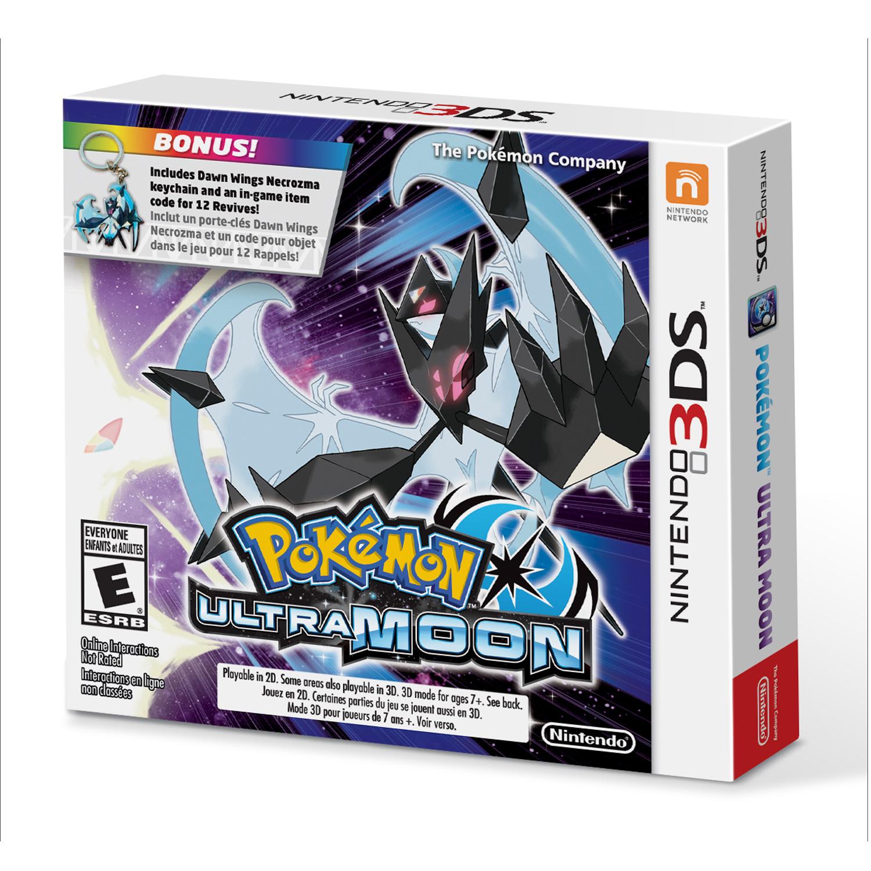 Pokemon Ultra Moon Starter Bundle, Nintendo, Nintendo 3DS, 045496744793